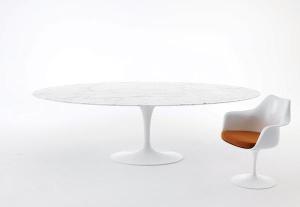 La vera storia della collezione Pedestal di Eero Saarinen per Knoll