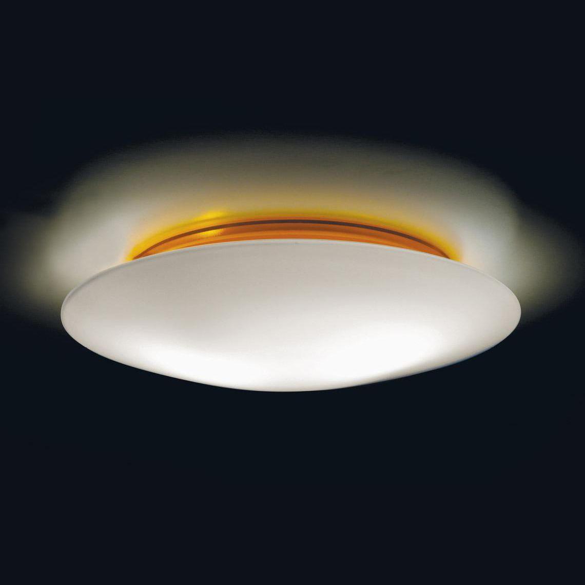 Plafoniere Per Ambienti Umidi : Plafoniera moderna in vetro soffiato policarbonato led
