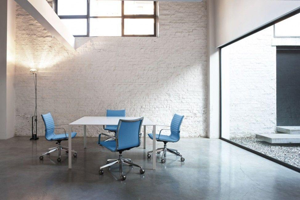 Sedie Per Ufficio Kastel : Sedia da ufficio moderna con braccioli con base a stella in