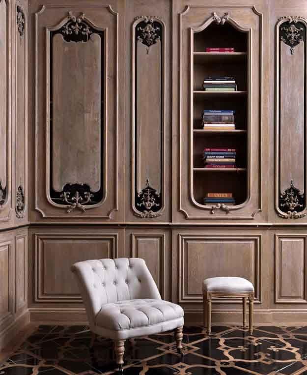 Pannello decorativo da parete / in marmo / in legno / testurizzato ...