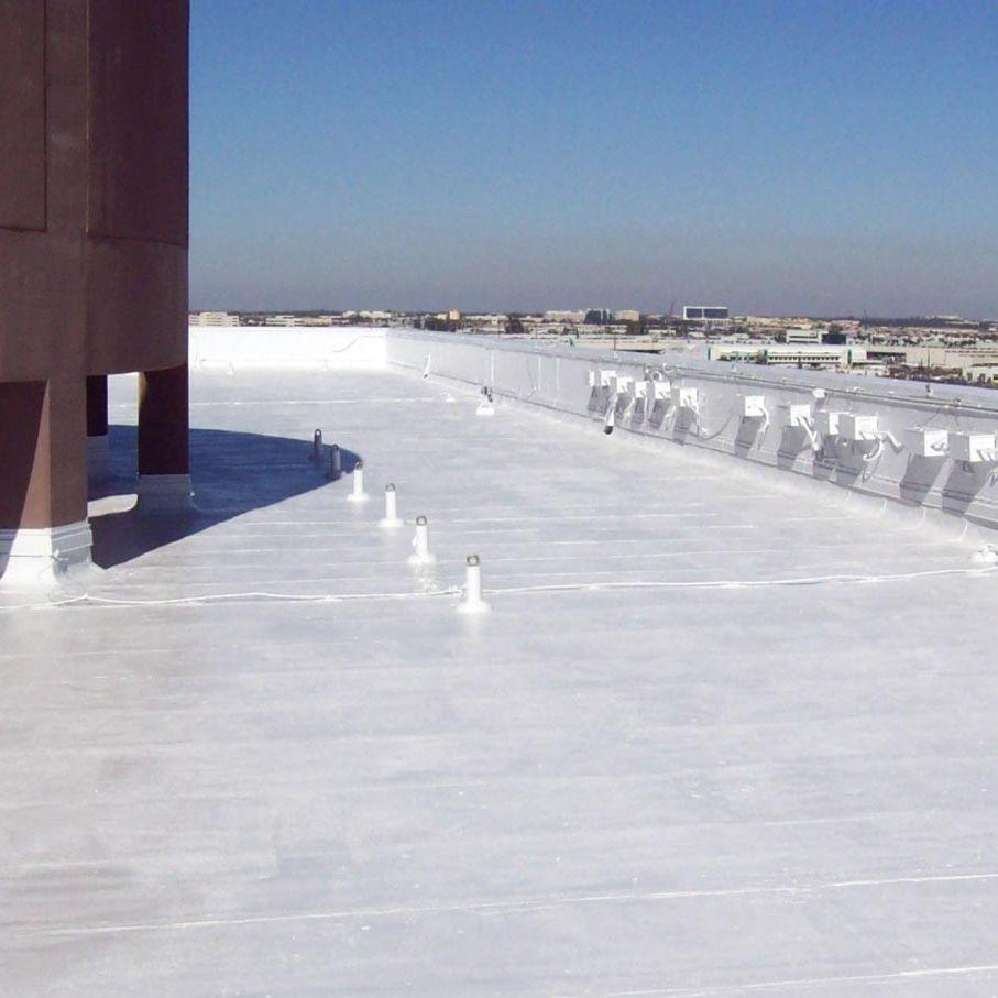 Membrana impermeabilizzante per drenaggio di terrazza / per tetto ...
