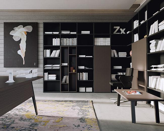 Libreria Per Ufficio : Libreria modulare moderna per ufficio contract box