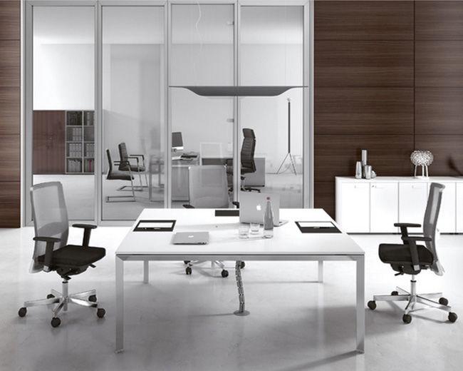 Tavolo Ufficio Legno : Tavolo da riunione moderno in legno rettangolare quadrato