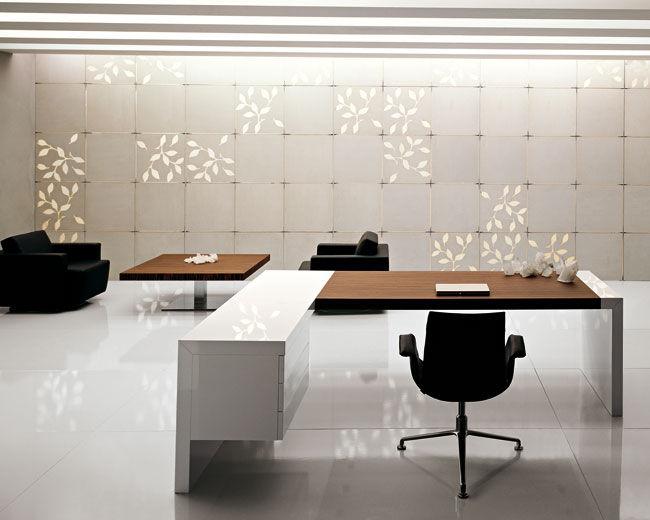Scrivania Ufficio In Legno : Scrivania direzionale in legno moderna professionale kyoto