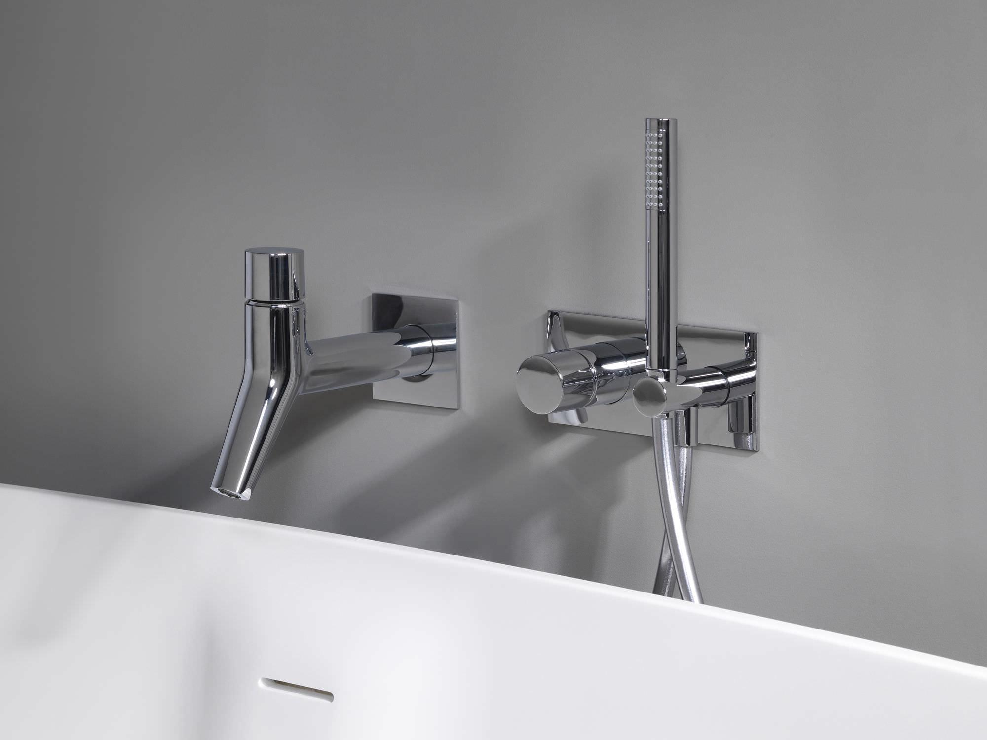 miscelatore per vasca da doccia in metallo cromato da bagno rubinetto ru10051