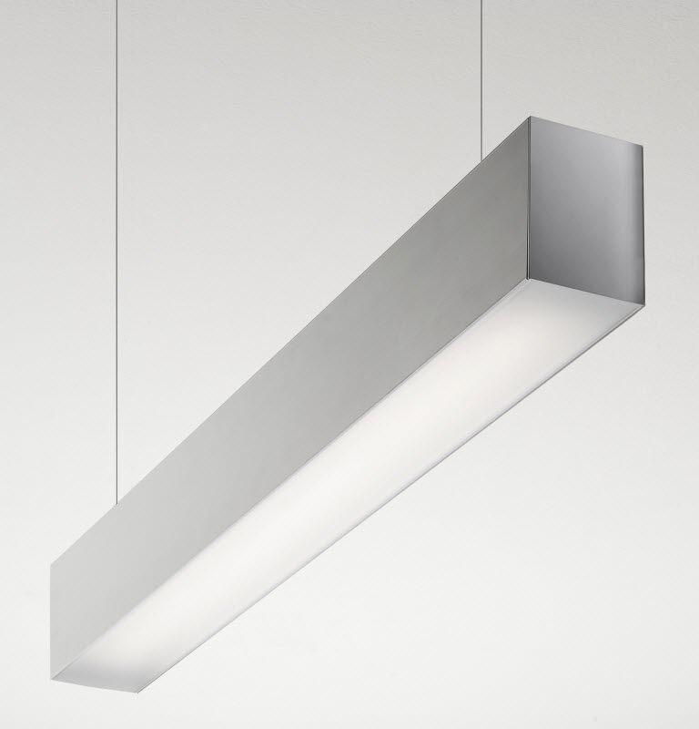 Luce A Sospensione / A Lampada Fluorescente / LED / Lineare   FILE 2H