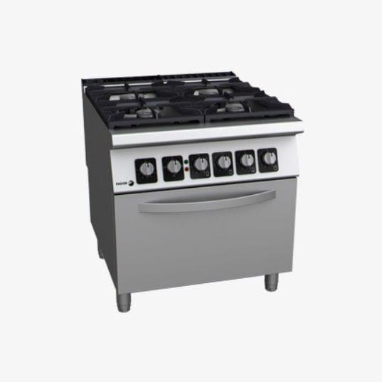 Blocco cucina a gas / in acciaio inox / in ghisa - C-GE941 - FAGOR ...