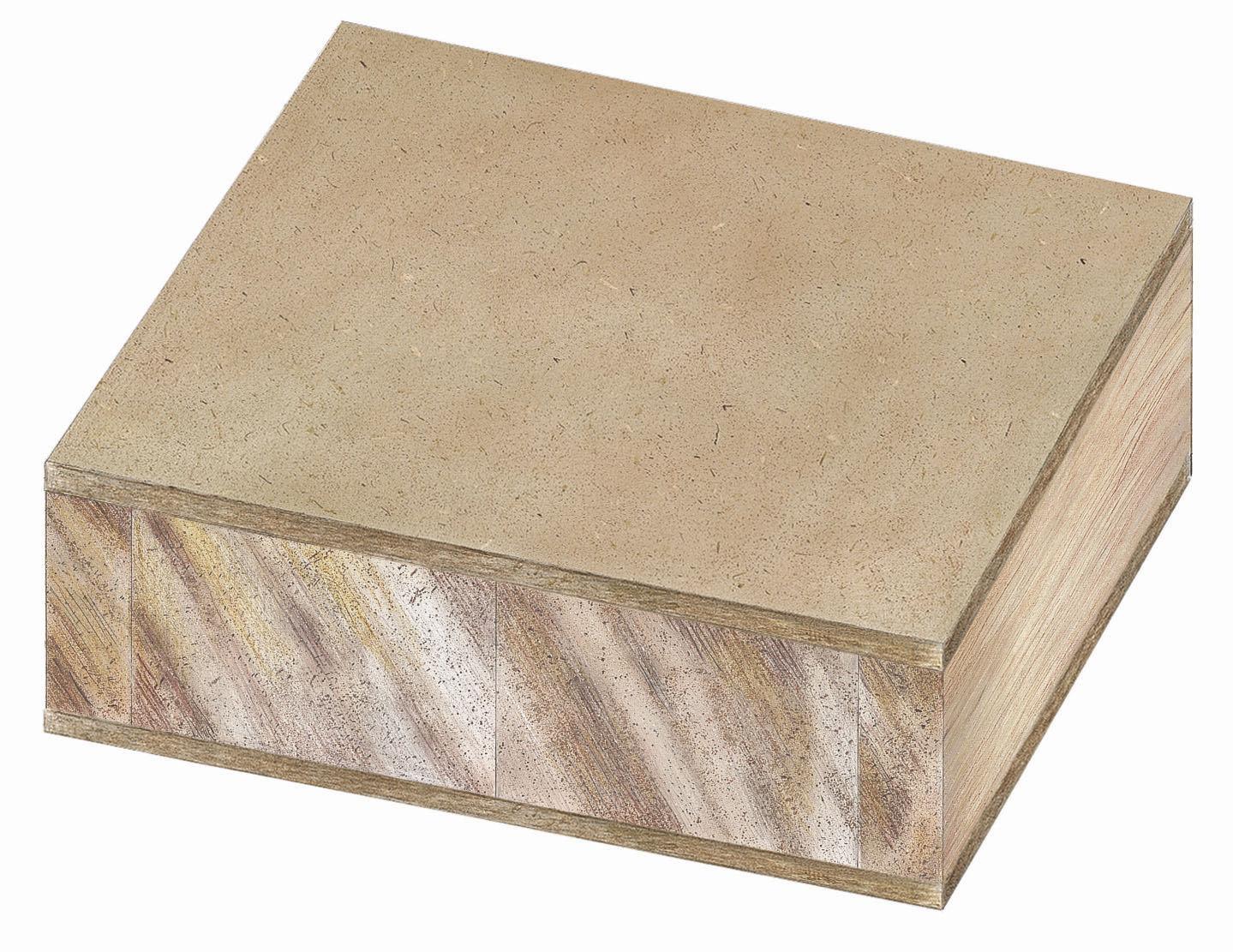 Pannello in legno in compensato / per mobili / per arredamento di ...