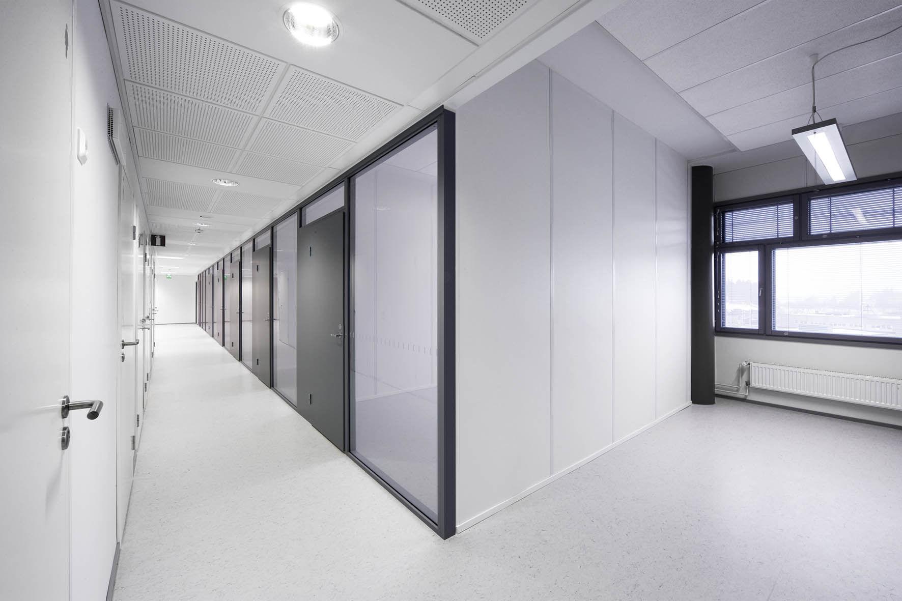 Ufficio In Cartongesso : Parete amovibile in metallo in cartongesso da ufficio