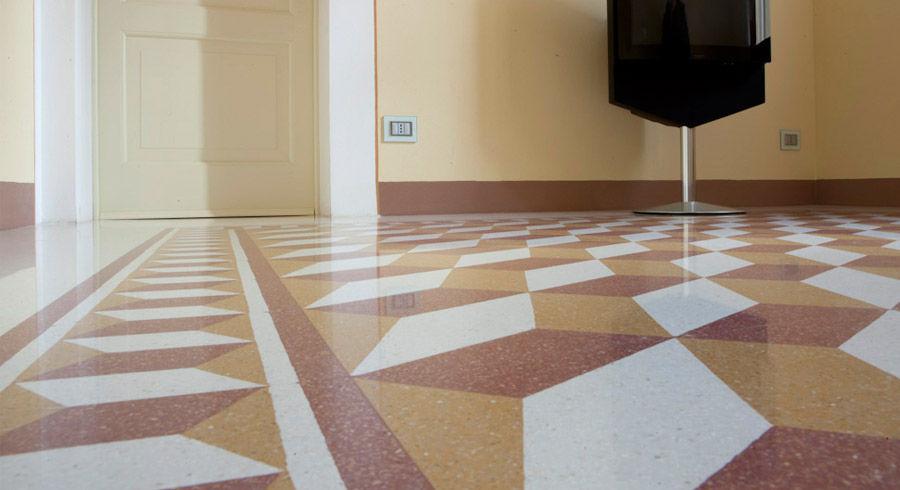 Piastrella da bagno / da sala / da pavimento / in graniglia di ...