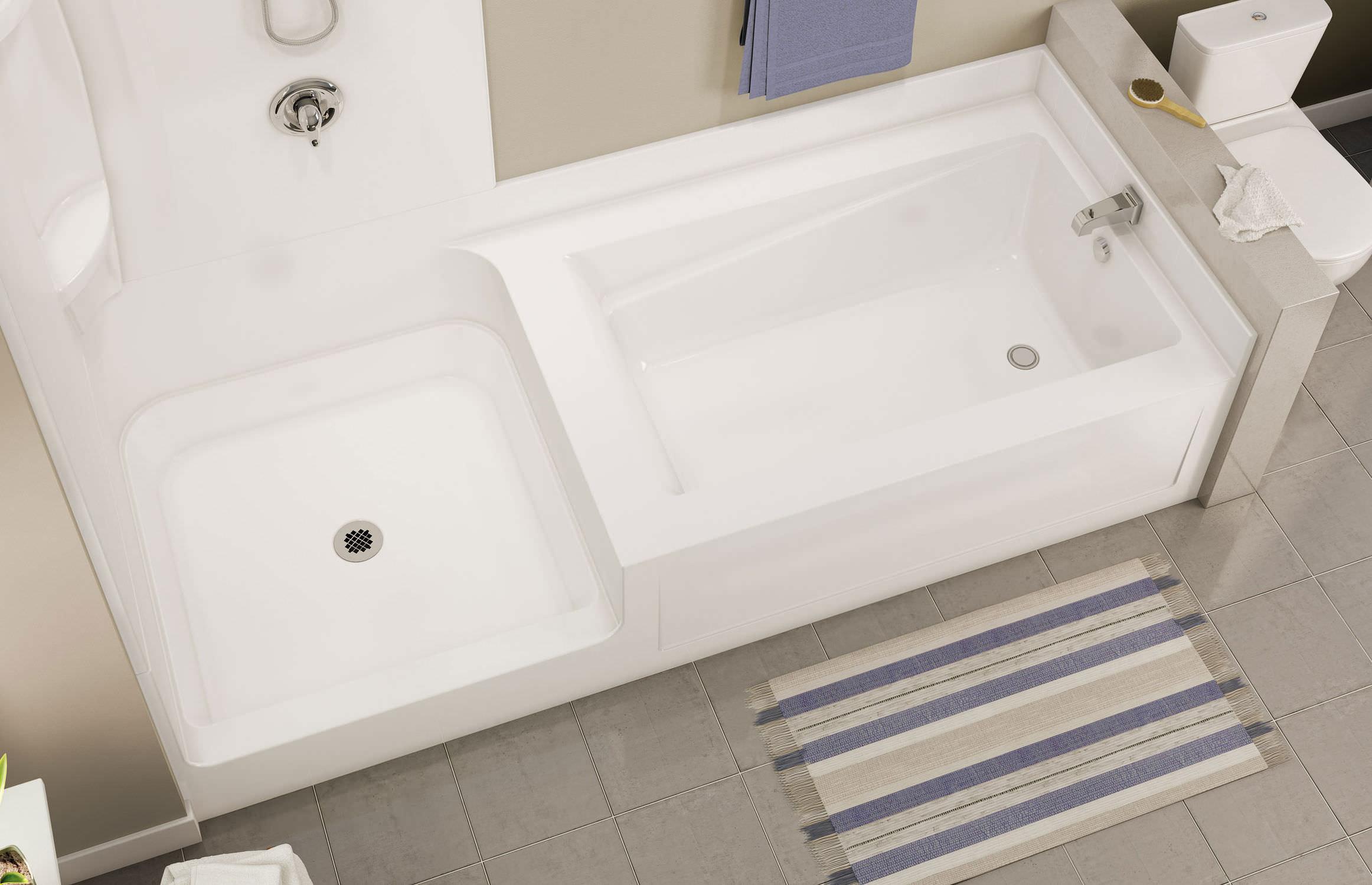 Vasca Da Bagno Infinity Prezzo : Vasca da bagno doccia da incasso rettangolare in acrilico