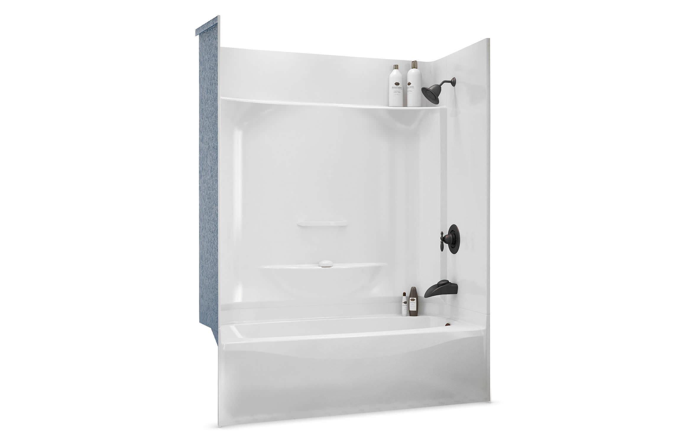 Vasca Da Bagno Rettangolare Incasso : Vasca da bagno doccia da incasso rettangolare in acrilico