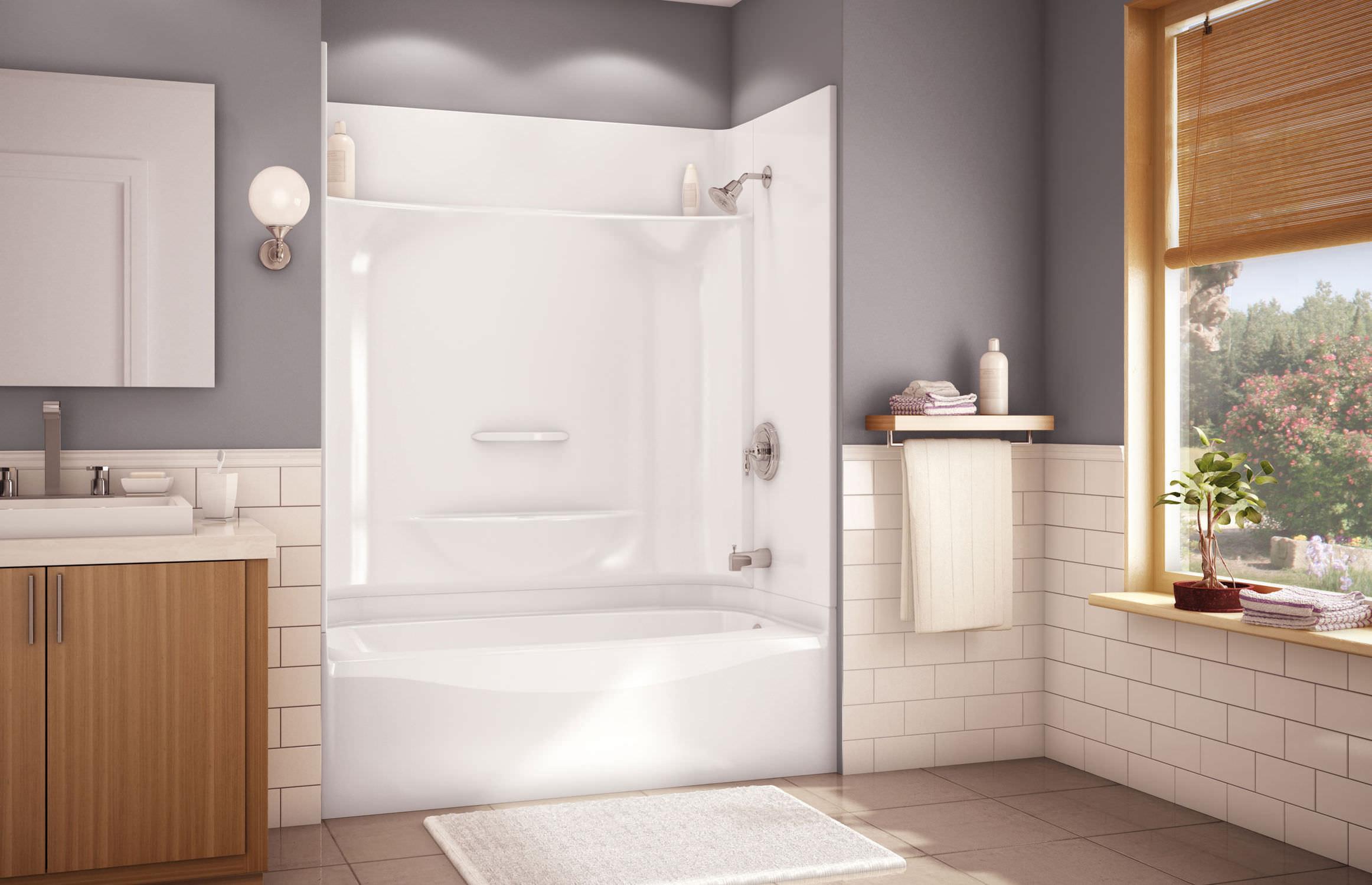 Vasca Da Bagno Rettangolare : Vasca da bagno rettangolare in acrilico con idromassaggio samana