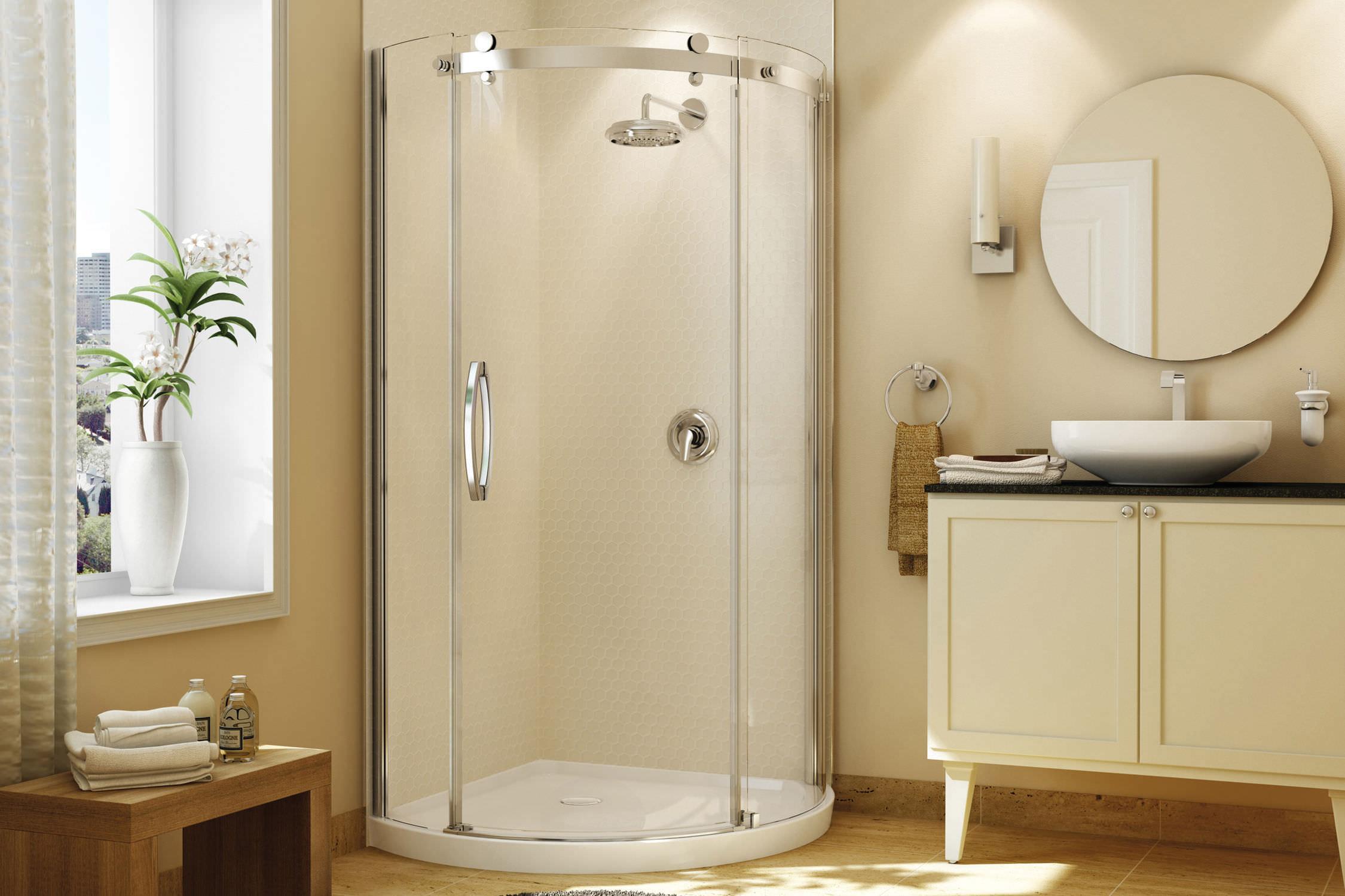 Pareti Per Doccia In Acrilico : Pannelli doccia i vantaggi del cristallo temperato cabine doccia