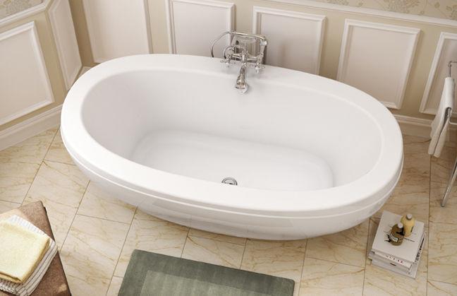 Vasca Da Bagno Jazz : Vasca da bagno ad isola ovale in acrilico reverie f maax