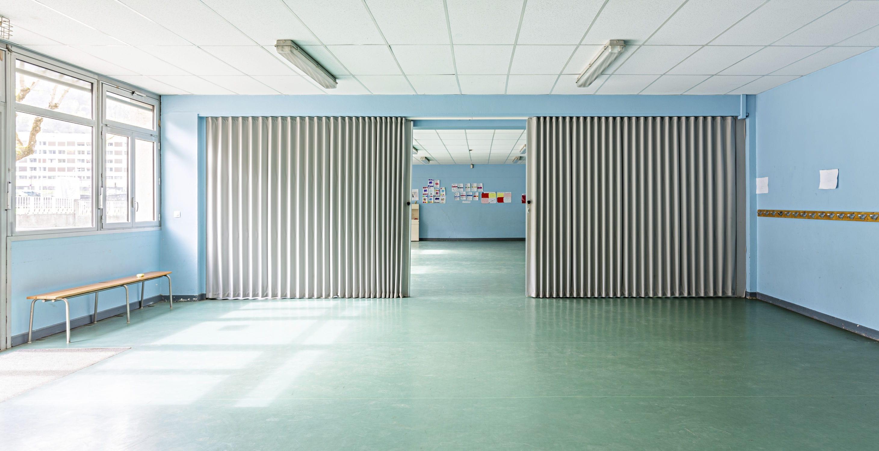Pareti Divisorie In Tessuto : Parete pieghevole in tessuto da ufficio per uso residenziale
