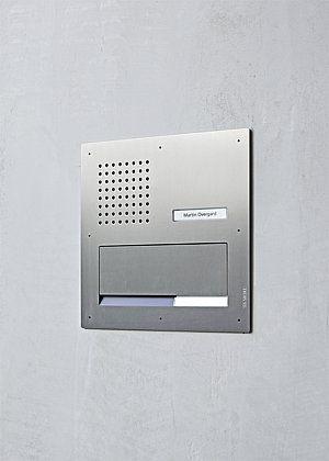 cassetta delle lettere da incasso / a muro / condominiale / con