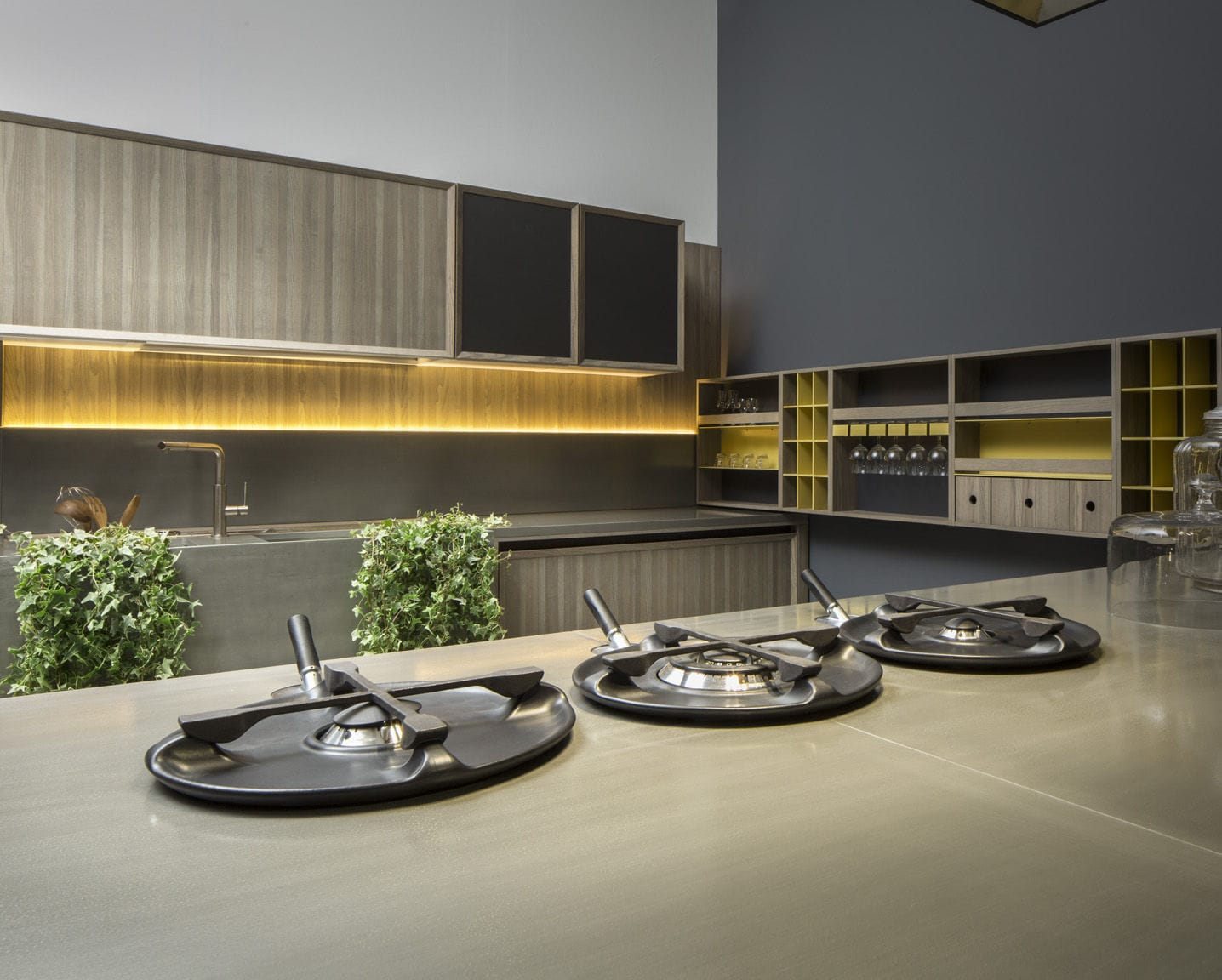 Mobile alto da cucina - LIGNUM by Marconato & Zappa - COMPREX