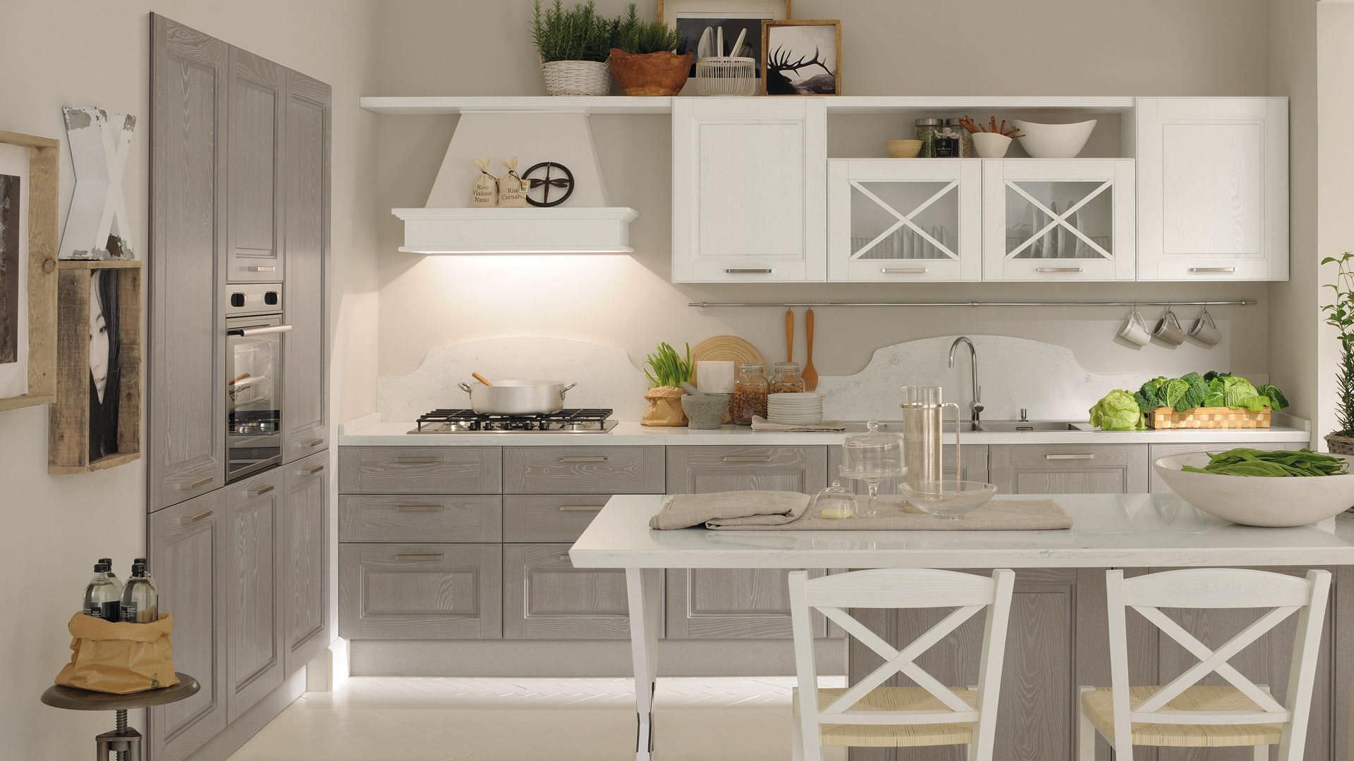 Cucina classica / in legno - AGNESE - CUCINE LUBE