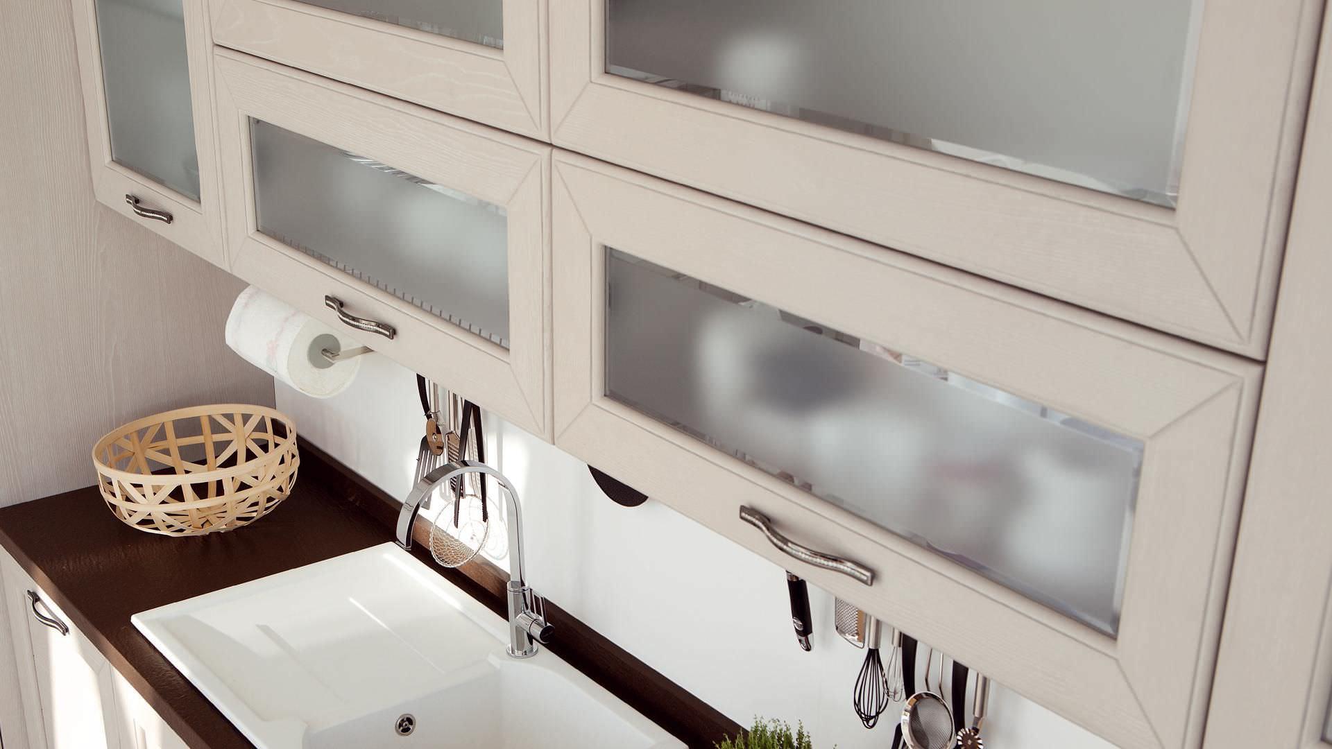 Cucina moderna / in legno - CLAUDIA - CUCINE LUBE - Video