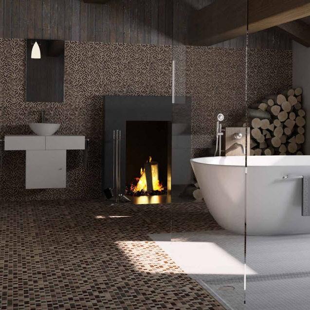 abbastanza Mosaico da interno / da bagno / da pavimento / in ceramica  FK58
