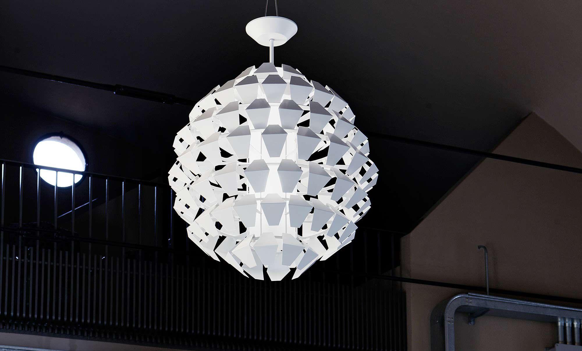 Lampade A Sospensione Design : Lampada a sospensione design originale in metallo verniciato