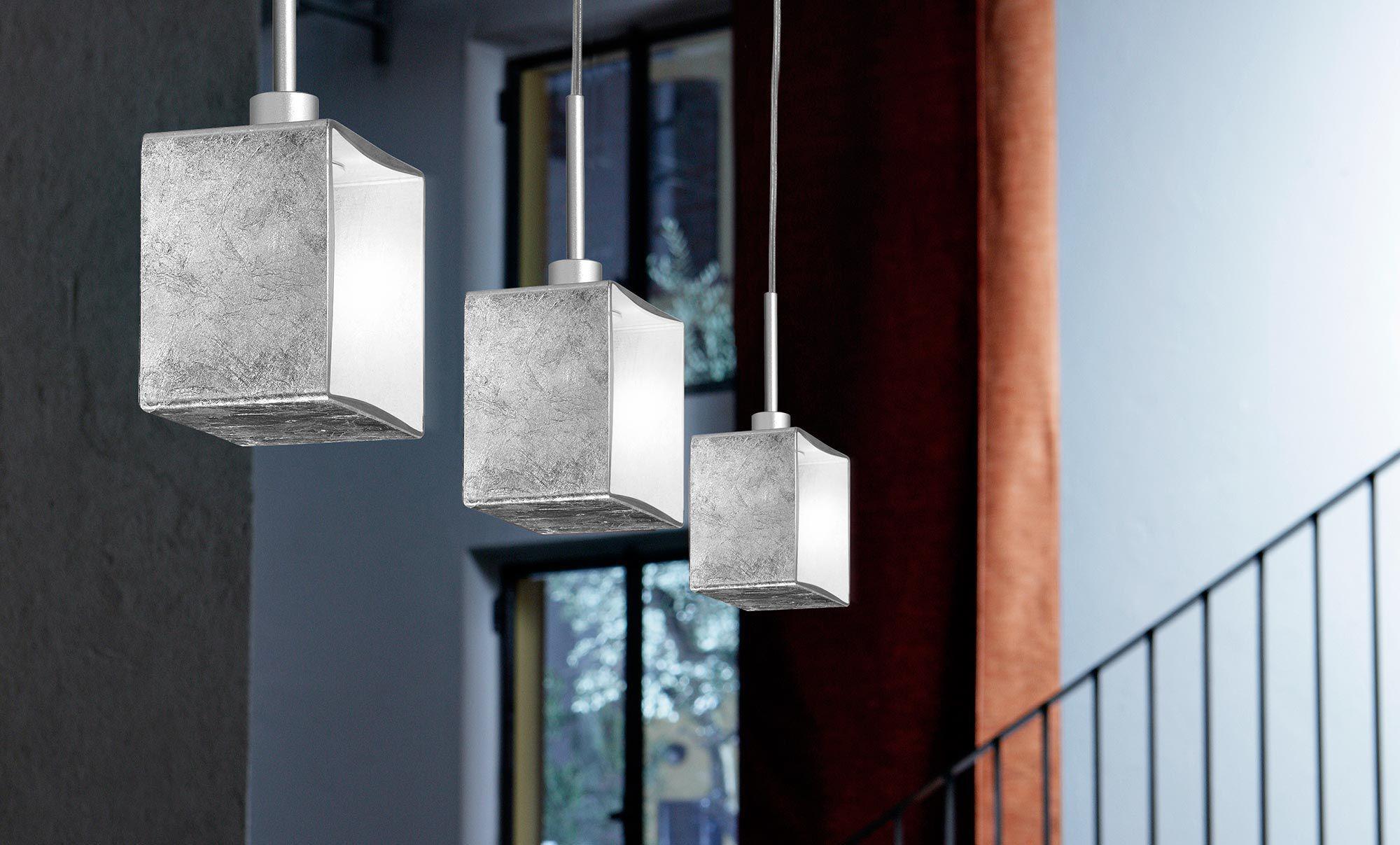 Lampade In Vetro Soffiato : Lampada a sospensione moderna in vetro soffiato alogena