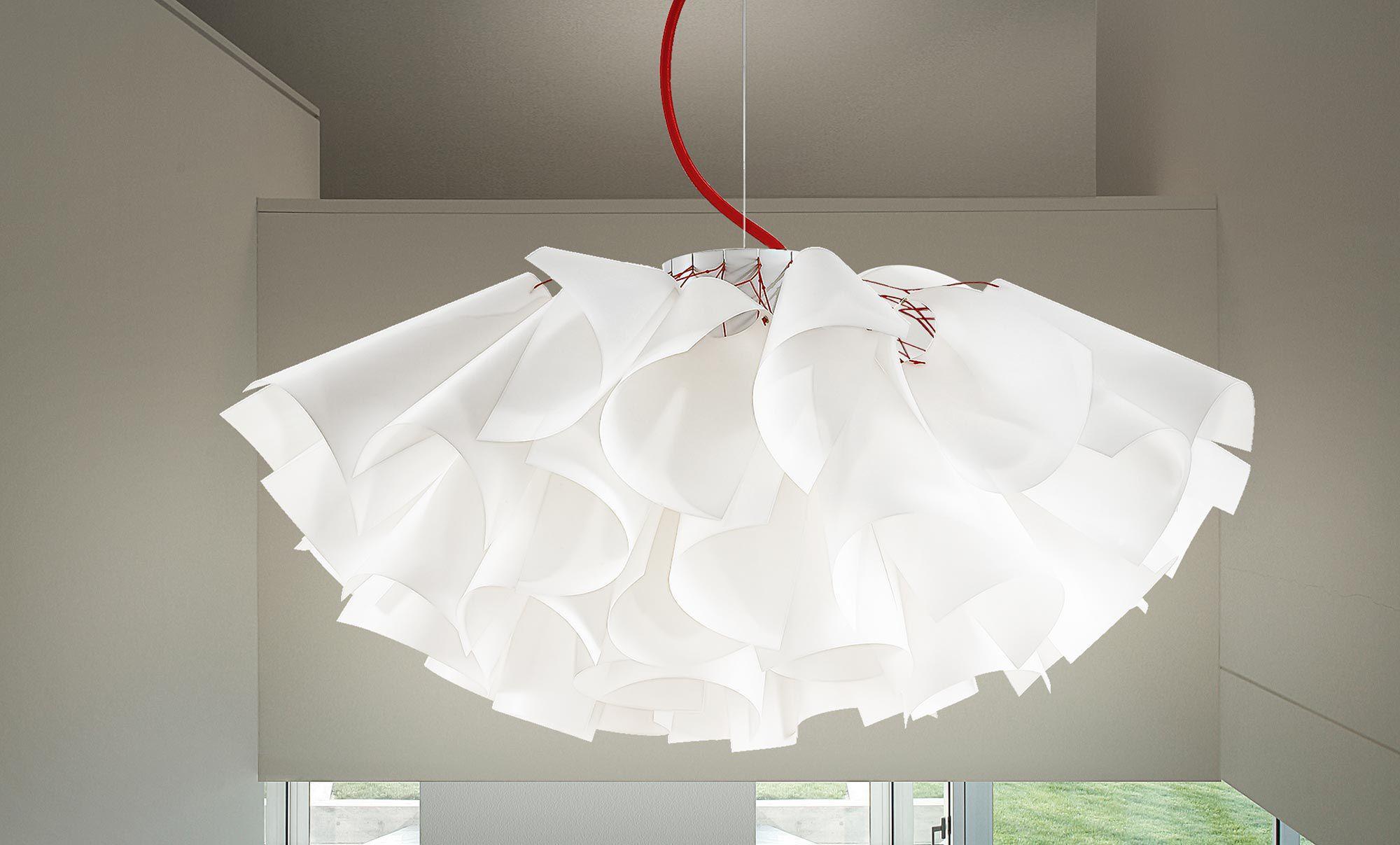 Lampade A Sospensione Design : Lampada a sospensione design originale in alluminio in pyrex