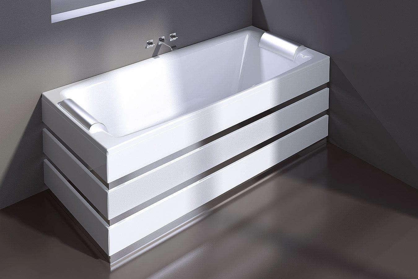 Vasche Da Bagno Treesse Listino Prezzi : Vasca da bagno in acrilico in acciaio idromassaggio crystal