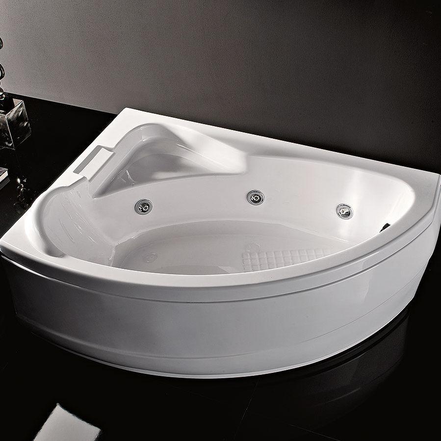 Vasca da bagno d\'angolo / in acrilico / idromassaggio - SYRIA ...