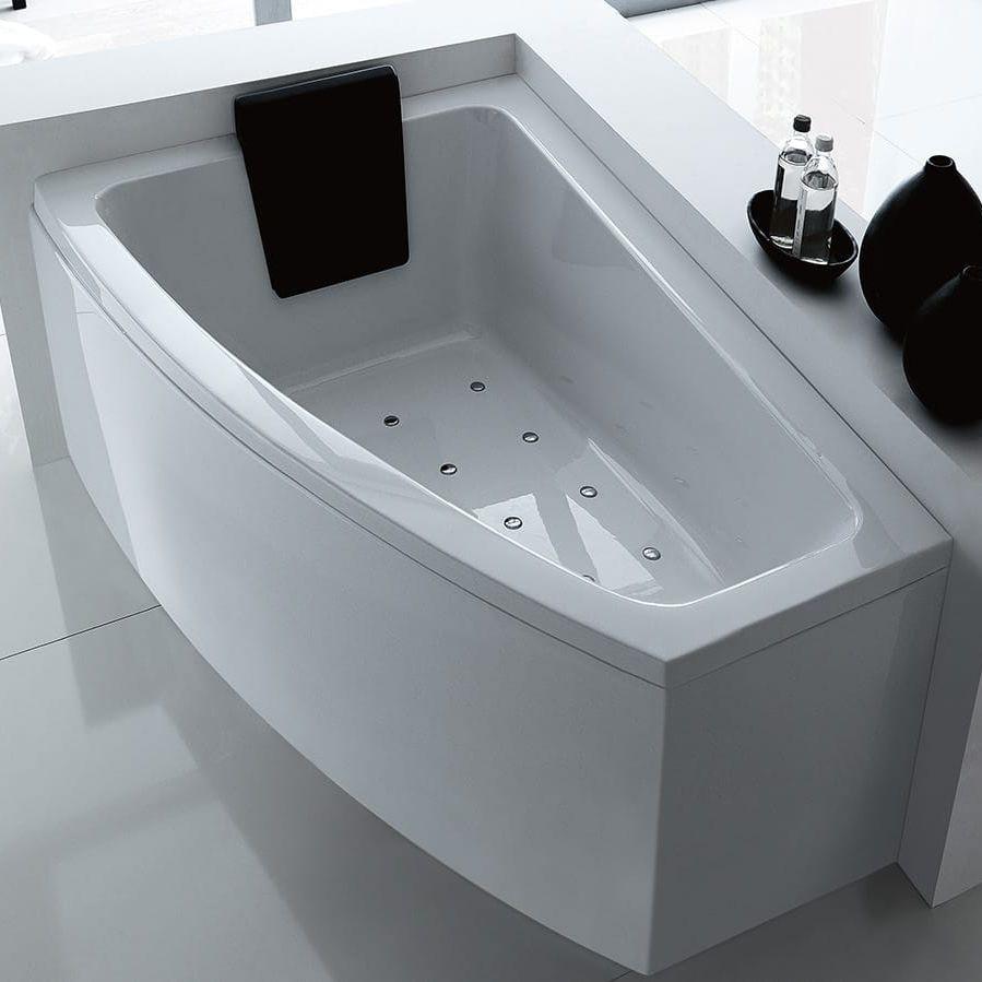 Vasca Da Bagno Acrilico O Acciaio : Vasca da bagno dangolo in acrilico idromassaggio asyx by