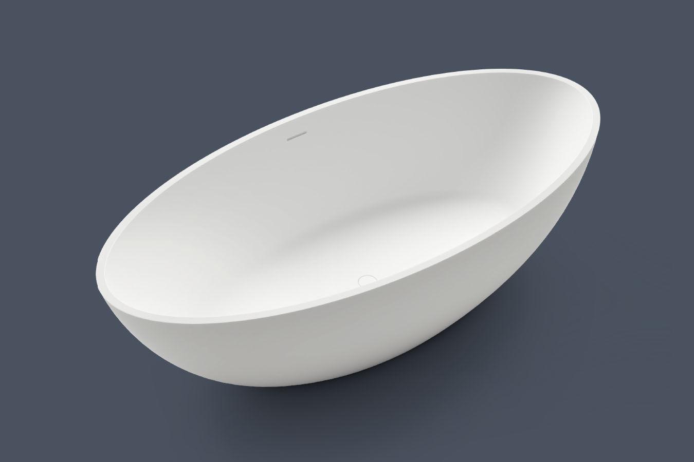 Vasche Da Bagno Treesse Listino Prezzi : Vasca da bagno su piedi ovale in acrilico in metallo epoca