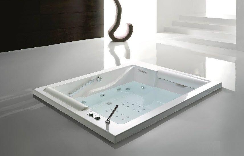 Vasca Da Bagno Doppia Prezzi : Vasca da bagno in acrilico doppia idromassaggio bis gruppo
