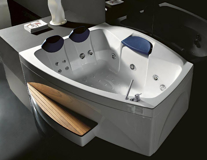 Vasche Da Bagno Angolari Treesse : Vasca da bagno pannello e telaio cristina treesse non