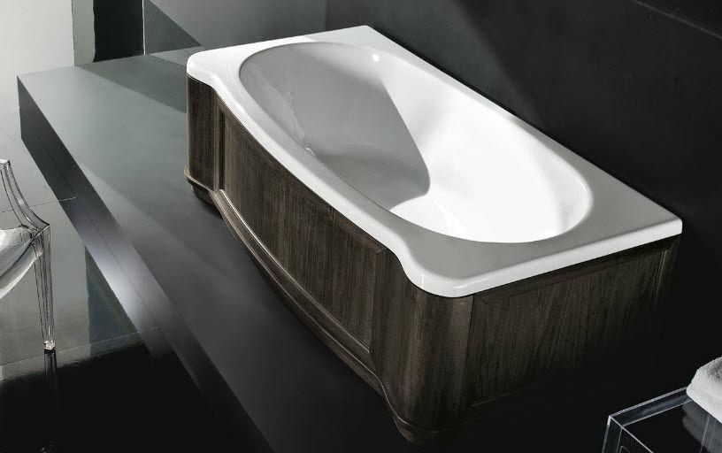 Vasche Da Bagno Treesse Listino Prezzi : Vasca da bagno da incasso d angolo in acrilico doppia