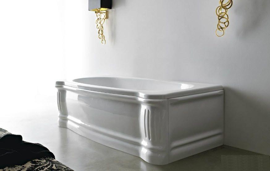 Vasche Da Bagno D Epoca : Ra ma vasca da bagno in ghisa con piedini