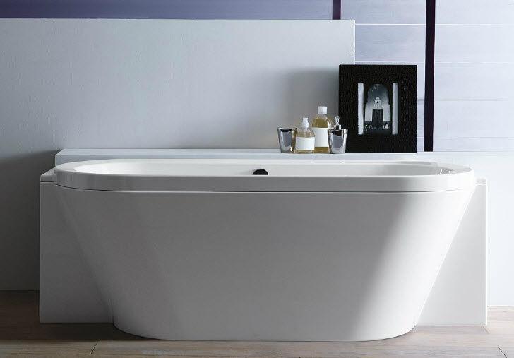 Vasca Da Bagno Treesse : Vasca da bagno da incasso ovale in acrilico idromassaggio