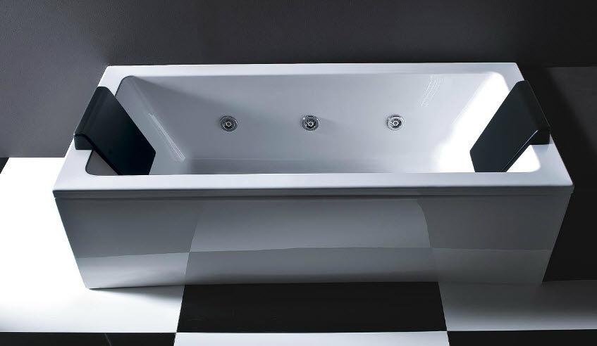 Vasche Da Bagno Treesse Listino Prezzi : Vasca da bagno in acrilico idromassaggio quadra by paolo parea
