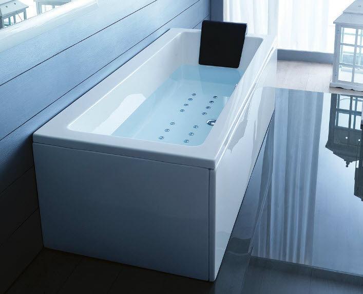 Vasca da bagno in acrilico / idromassaggio - QUADRA by Paolo Parea ...