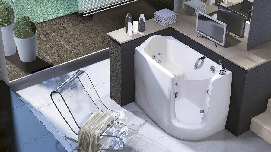 Vasca Da Bagno Con Porta : Vasche con porta per disabili