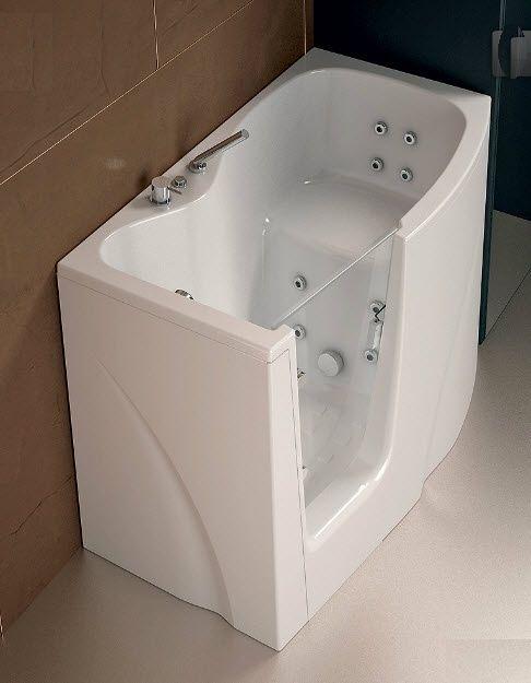 vasca da bagno dangolo in acrilico per disabili gen y by paolo parea