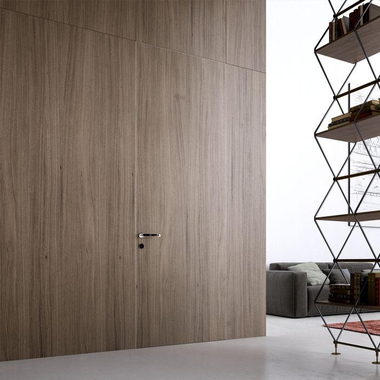 Porta da interni / battente / in legno / in alluminio - ALBA ...