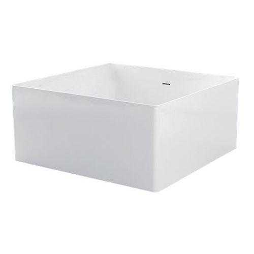 Vasca Da Bagno Kerasan : Vasca da bagno da appoggio quadrata in composito 7438 kerasan