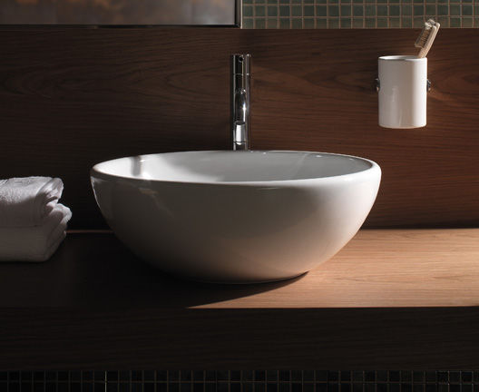 Vasche Da Bagno Globo Prezzi : Lavabo da appoggio tondo in ceramica moderno lat