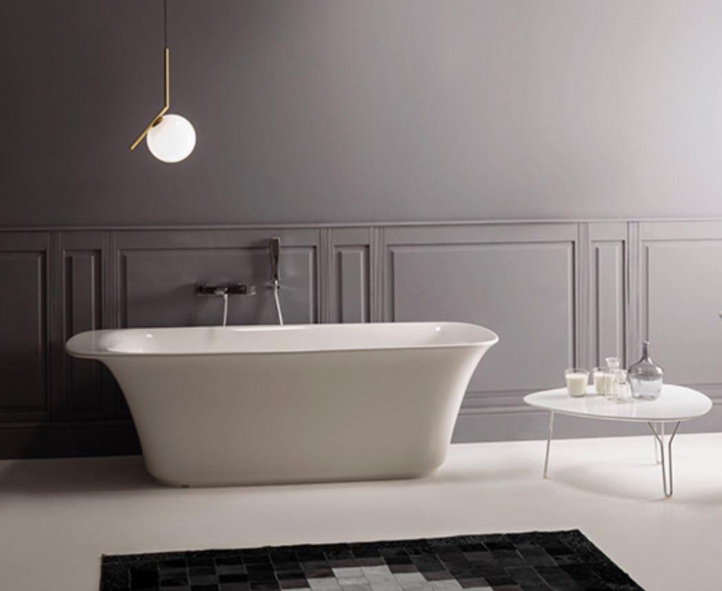 Vasca Da Bagno Globo : Vasca da bagno da appoggio in pietraluce va bi ceramica