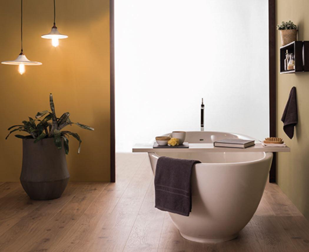 Vasche Da Bagno Globo Prezzi : Vasca da bagno da appoggio ovale in pietraluce® vaboca