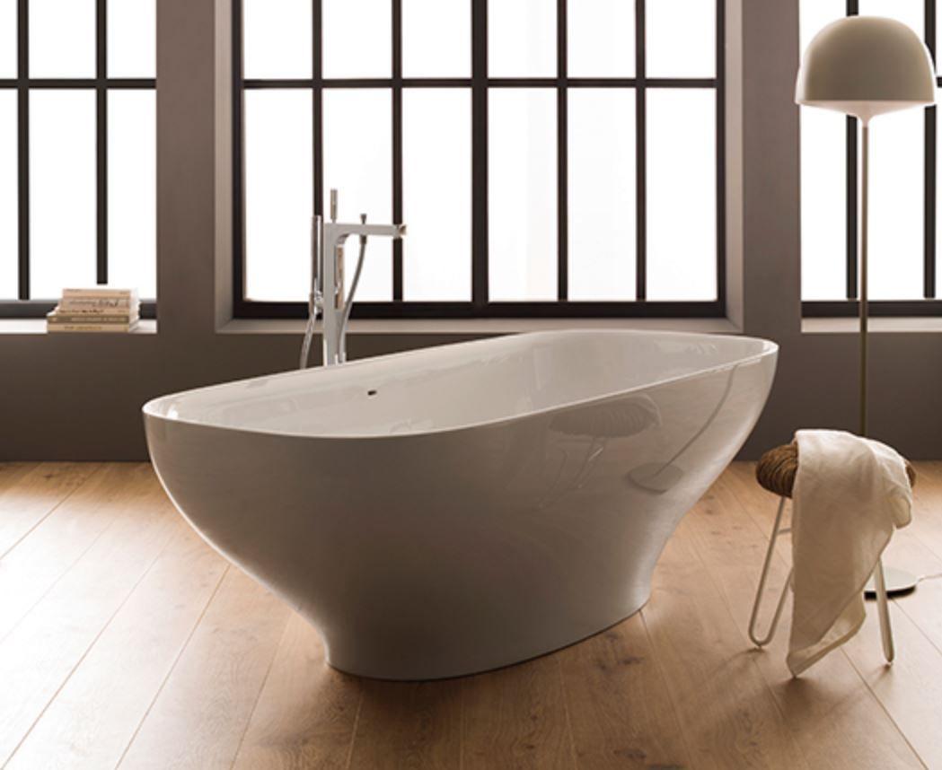 Vasca Da Bagno Globo : Vasca da bagno da appoggio ovale in pietraluce vagebi