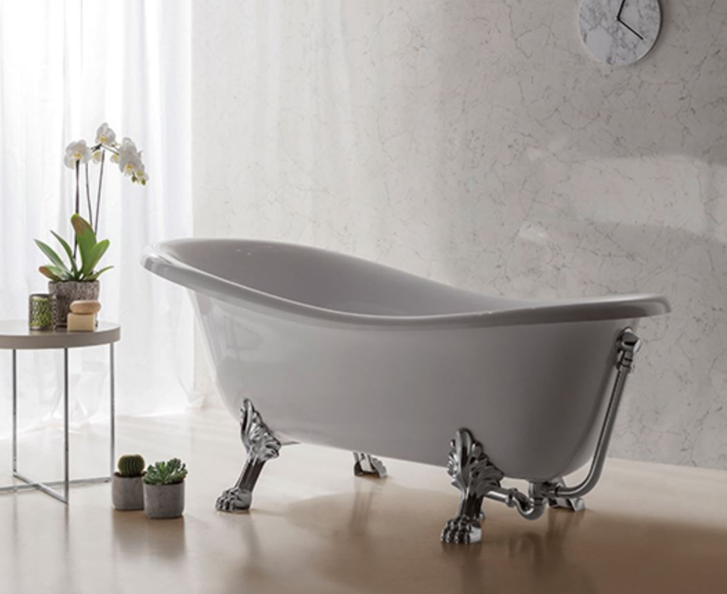 Vasche Da Bagno Globo Prezzi : Vasca da bagno su piedi ovale in resina in vetro pa100