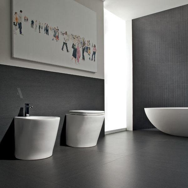 Piastrella da bagno / per pavimento / in gres porcellanato / 50x50 ...