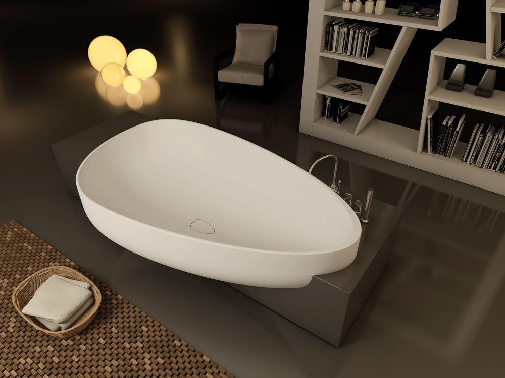 Vasca Da Bagno Ad Incasso : Vasca da bagno ad isola da incasso in composito beyond by